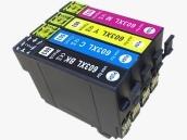 Sparpack mit 4 XL-Druckerpatronen kompatibel zu den Epson-Patronen 18 schwarz, 18 cyan, 18 magenta und 18 gelb