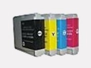 Sparpack - 4 Druckerpatronen kompatibel zu den Brother-Patronen LC970BK, LC970C, LC970M und LC970Y