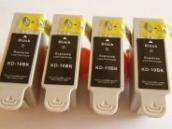 Sparpack - 4 Druckerpatronen kompatibel zur Kodak-Patrone 30B